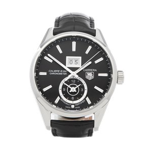 Tag Heuer Calibre 8 Grand Date Stainless Steel - WAR510-2