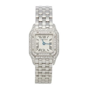 Cartier Panthère Diamond Mother Of Pearl 18k White Gold - 2363