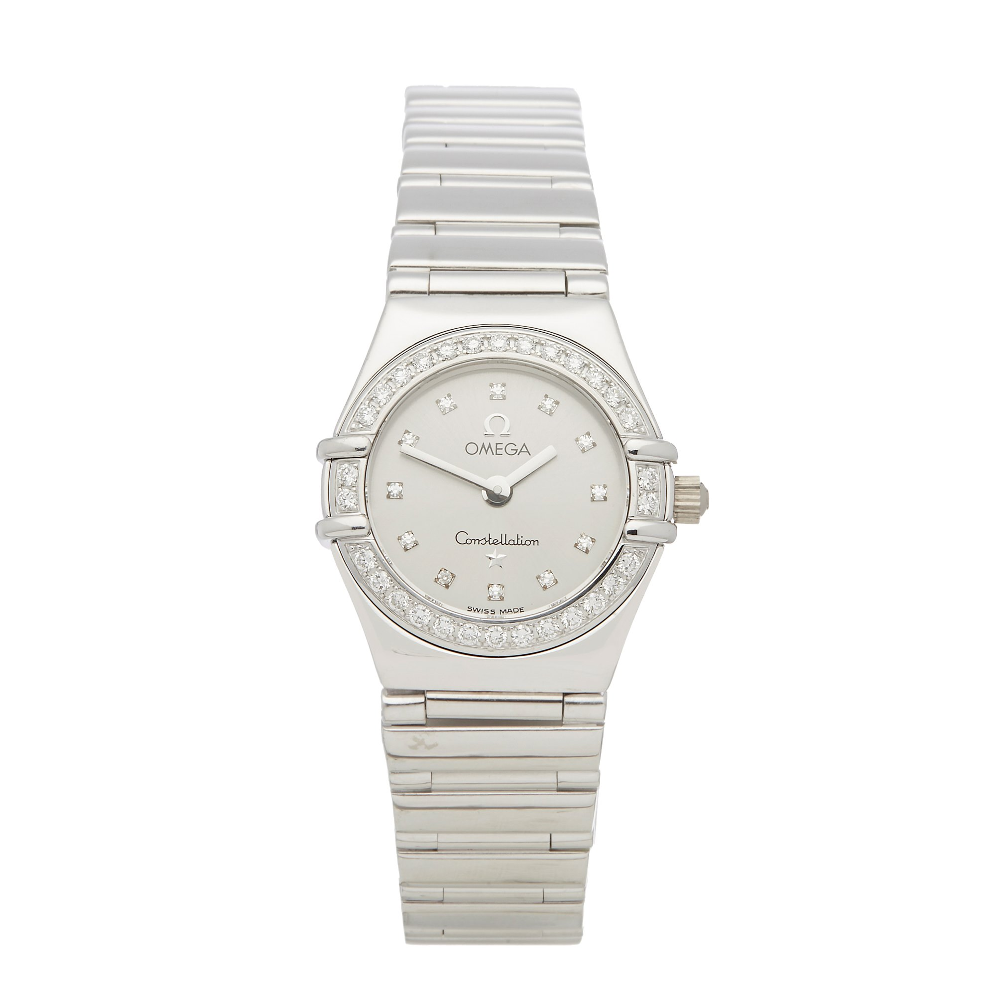 Omega Constellation Diamond White Gold 1165.36