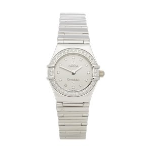 Omega Constellation Diamond White Gold - 1165.36