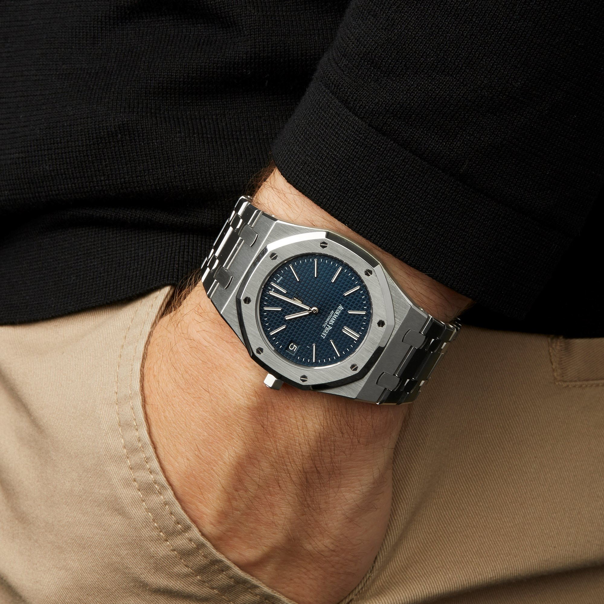 Audemars Piguet Royal Oak 15202st Oo 1240st 01 2014 W6483 Tweedehands Horloges