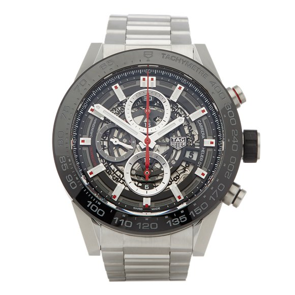 Tag Heuer Carrera Calibre 1 Chronograph Stainless Steel - CAR2A1W-0