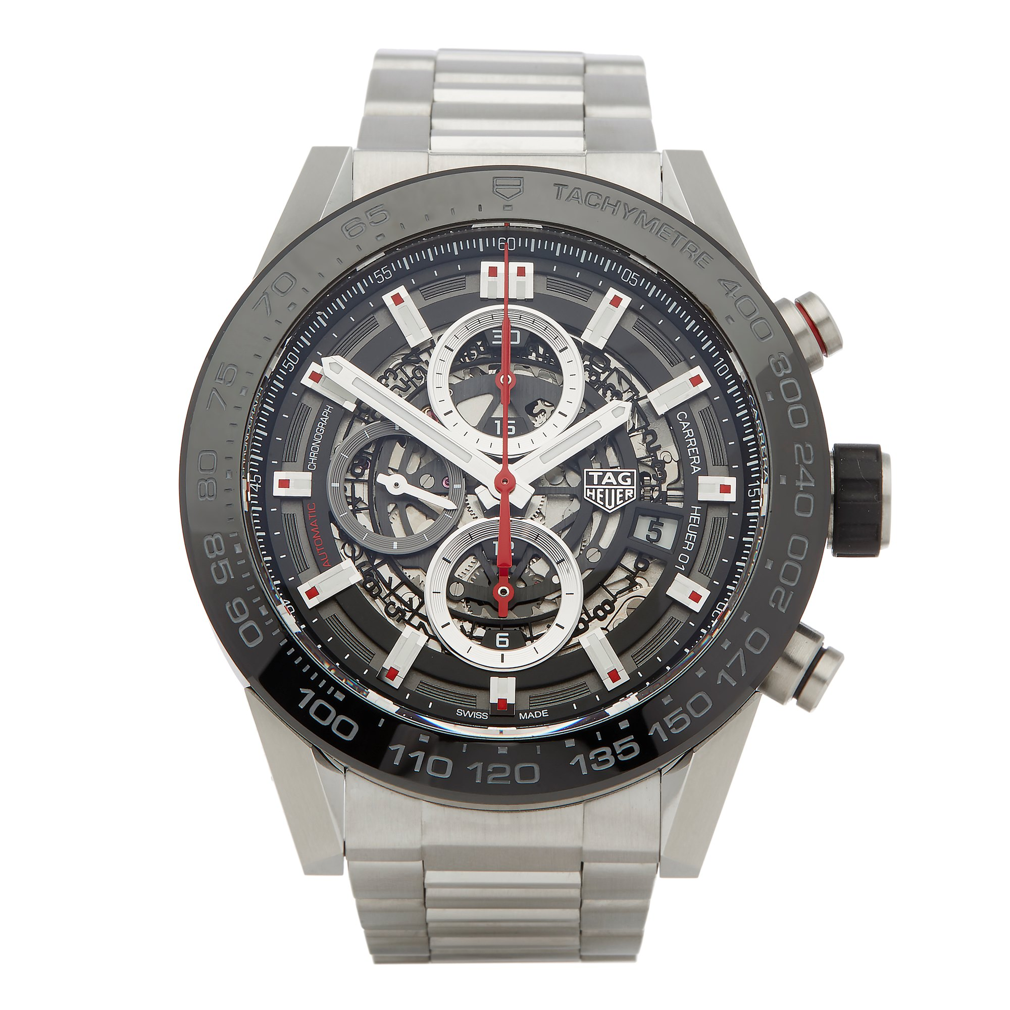 Tag Heuer Carrera Calibre 1 Stainless Steel CAR2A1W-0