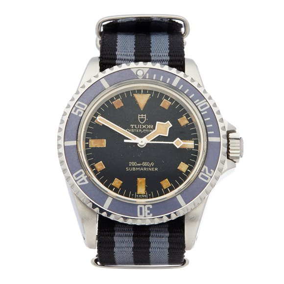Tudor Submariner Gilt Snowflake Pcg Stainless Steel - 7016
