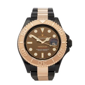 Rolex Yacht-Master Hercules Dlc Coated Stainless Steel & 18K Rose Gold - 116621