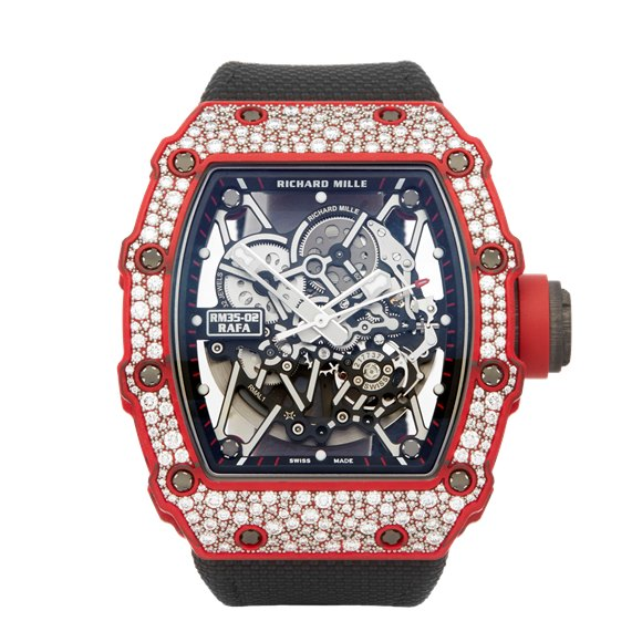 Richard Mille RM35 RM35-02 Rafa Diamond Carbon