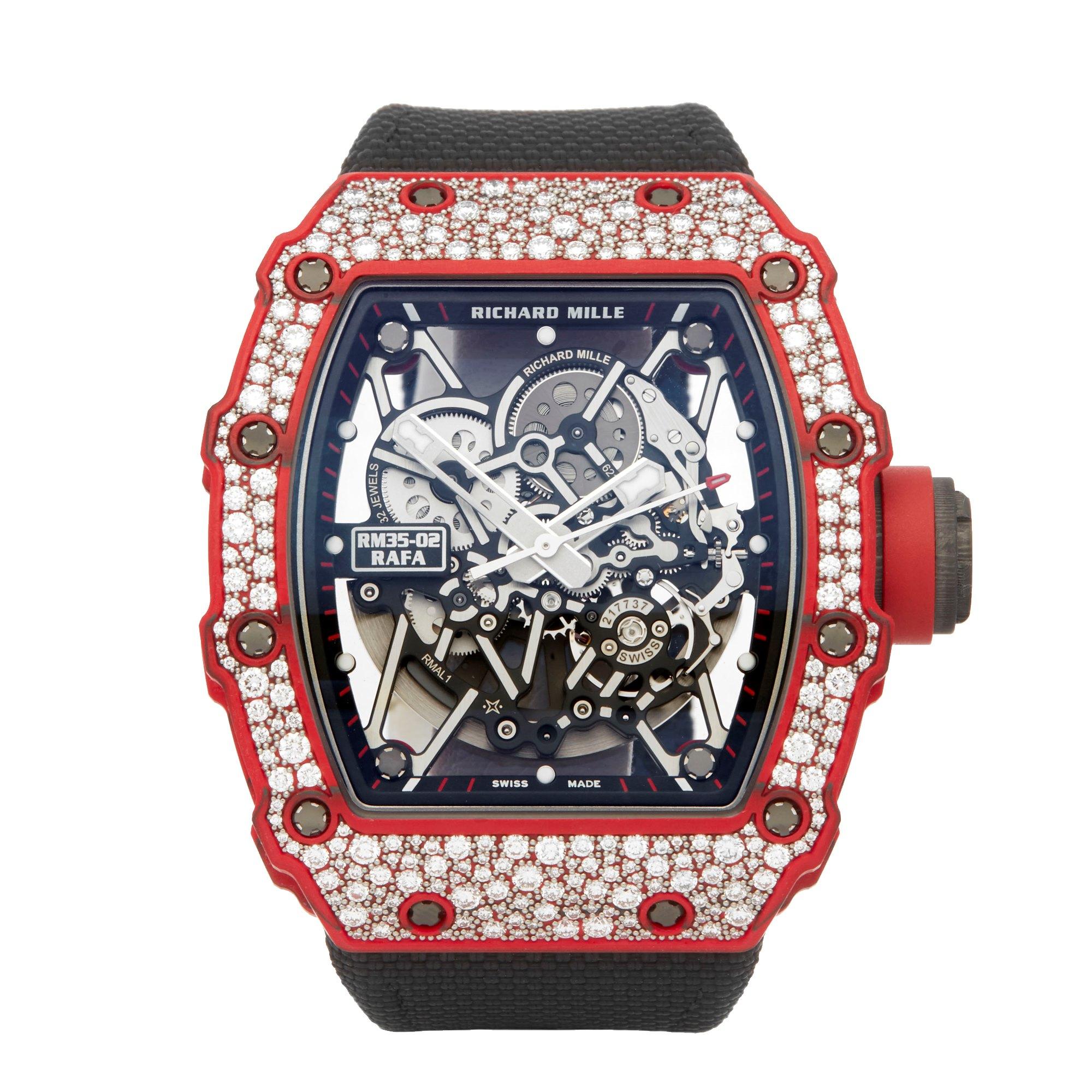 Richard Mille RM35 RM35-02 Rafa Diamond Carbon