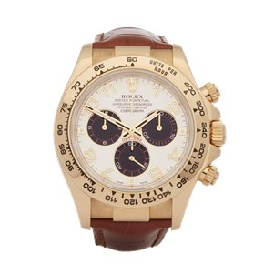 Rolex Daytona Chronograph 18k Yellow Gold - 116518