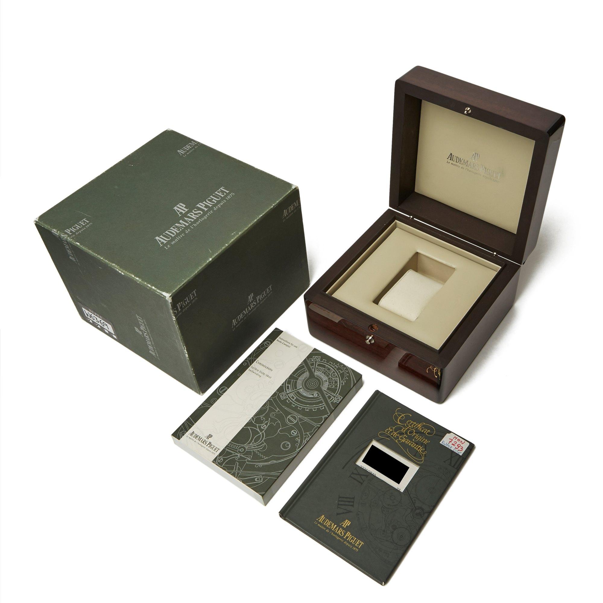 Audemars Piguet Royal Oak Offshore Rubber Clad Chronograph 18K Rose Gold & Rubber Clad 25940OK/O/002CA/01