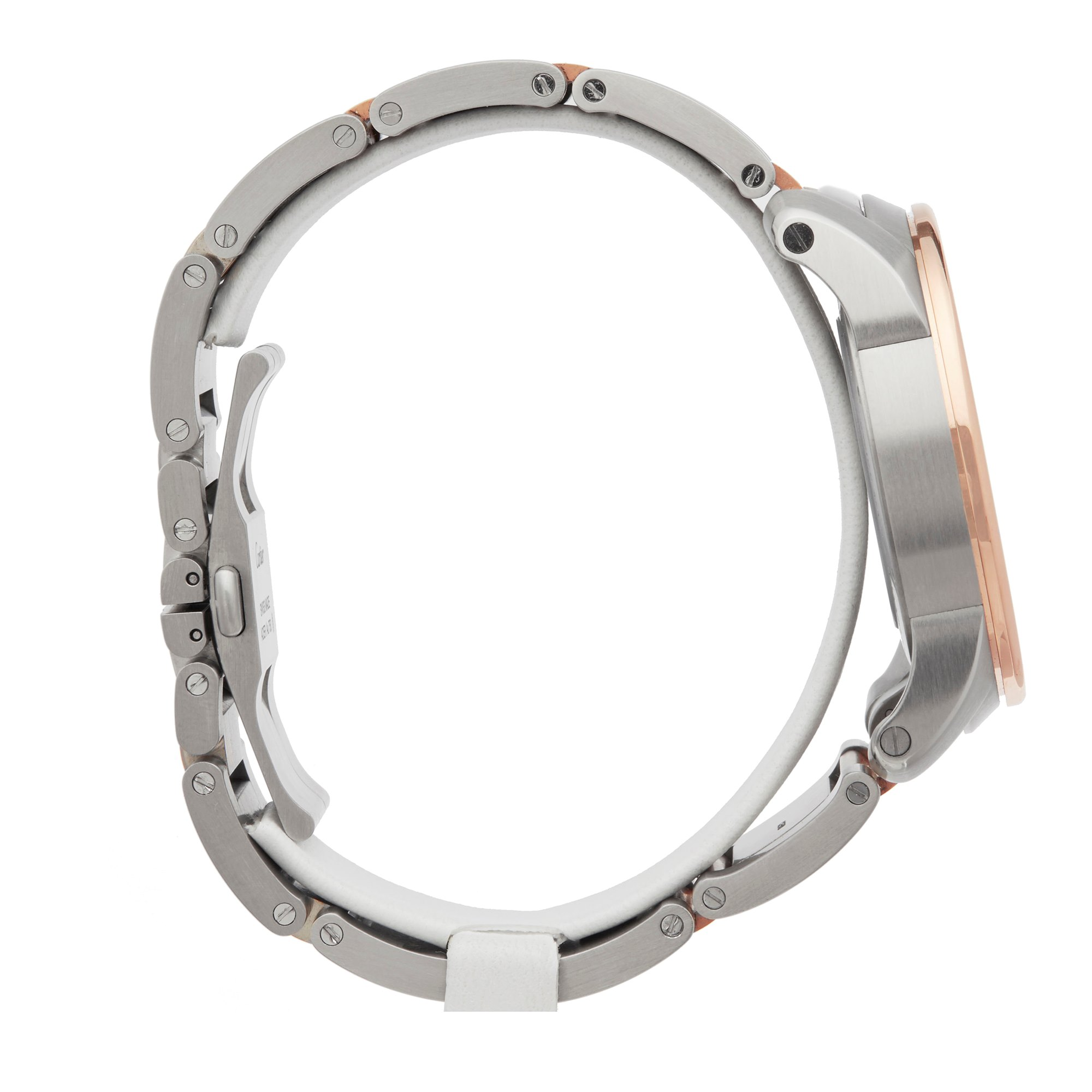 Cartier Calibre Stainless Steel & Rose Gold W7100036 or 3389