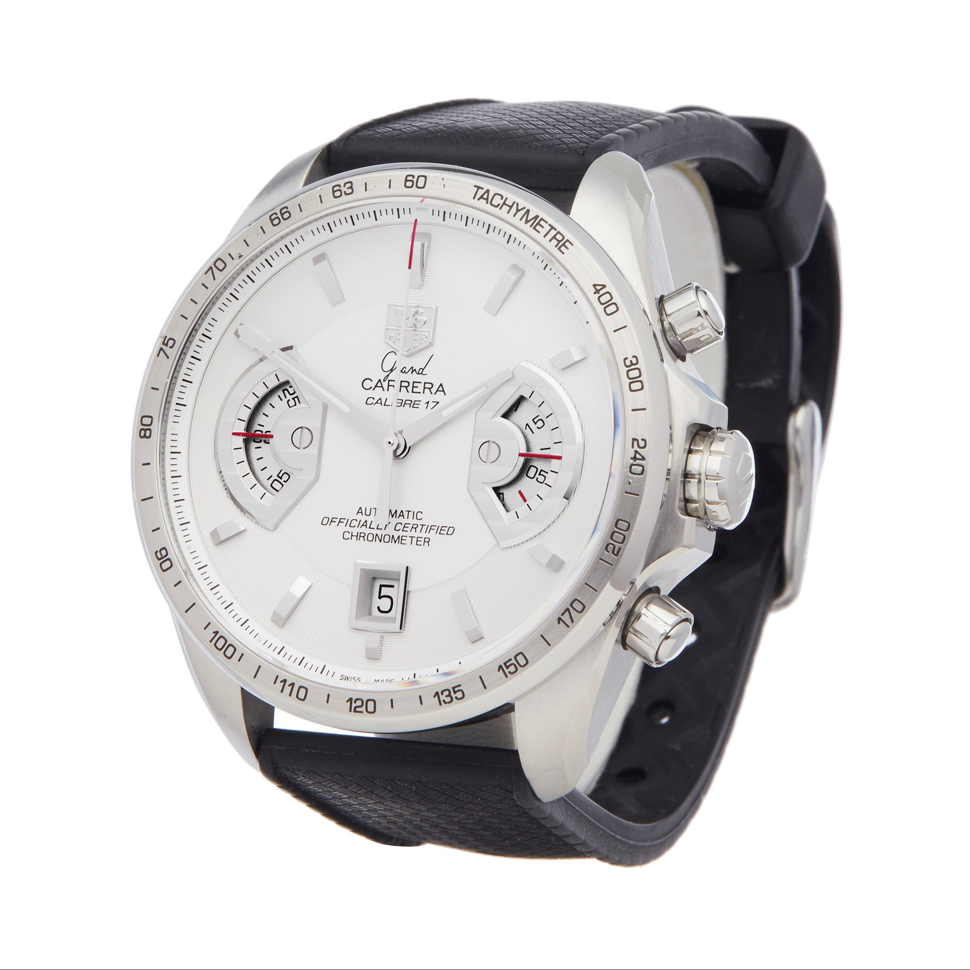 Tag Heuer Grand Carrera Chronograph Stainless Steel CAV511B
