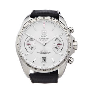 Tag Heuer Grand Carrera Chronograph Stainless Steel - CAV511B