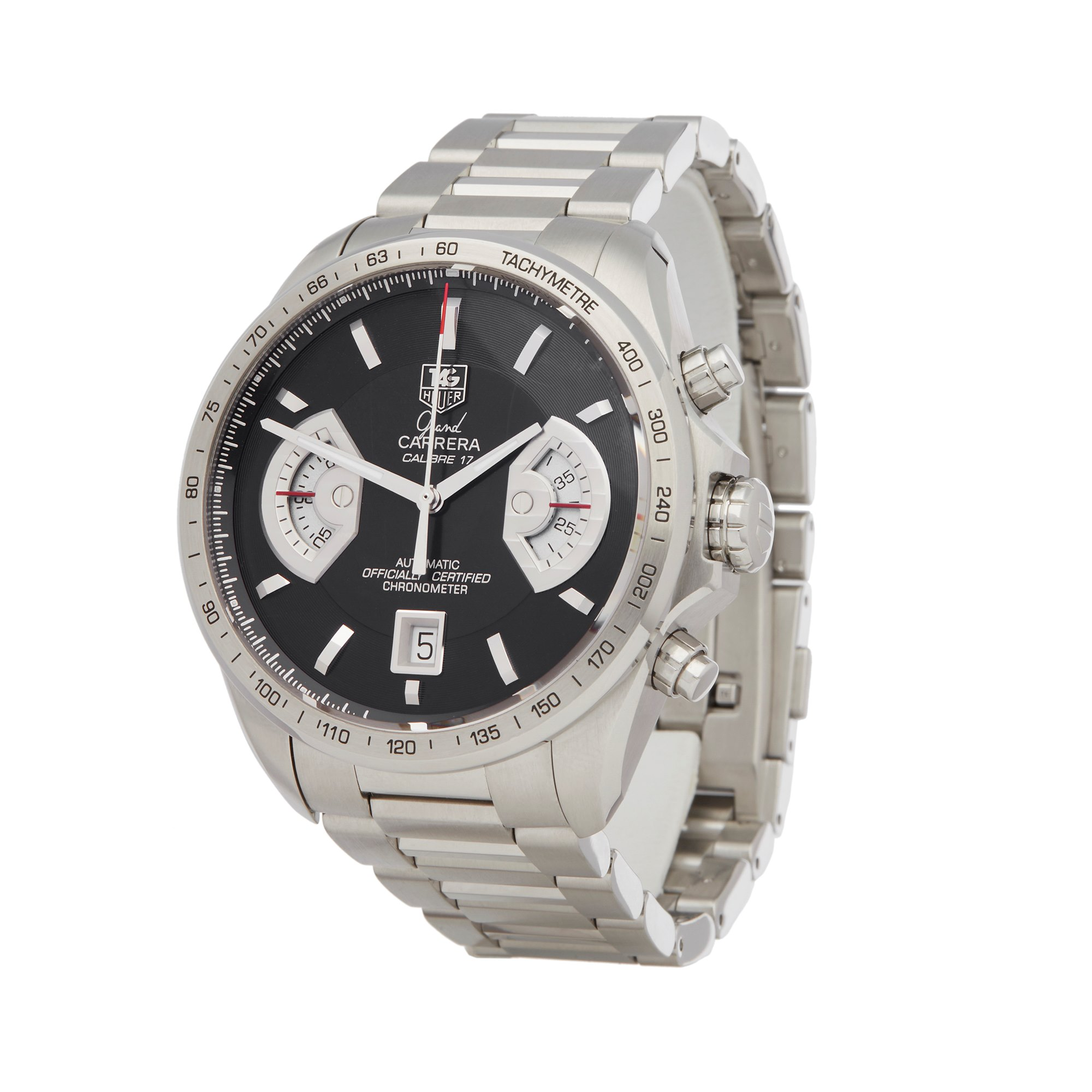 Tag Heuer Carrera Chronograph Stainless Steel CAV511A