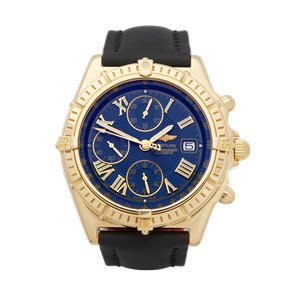 Breitling Crosswind Chronograph 18k Yellow Gold - K13055