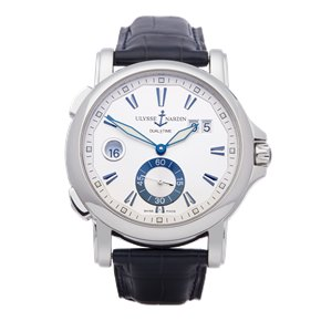 Ulysse Nardin Dual Time Stainless Steel - 243-55