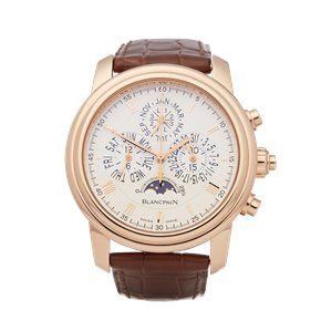 Blancpain Le Brassus Perpetual Calendar Split Seconds Chronograph 18K Rose Gold - 4286P-3642-55B