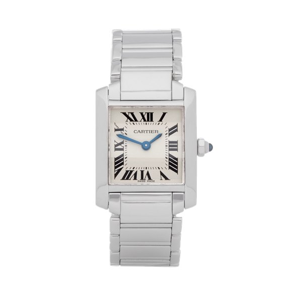 Cartier Tank 18k White Gold - W5001253 or 2403