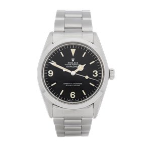Rolex Explorer I Stainless Steel - 1016