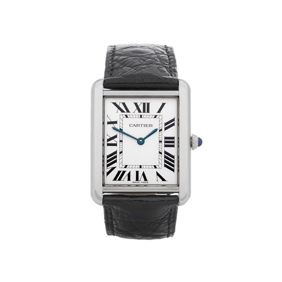 Cartier Tank Solo Stainless Steel - 2715 or W1018355