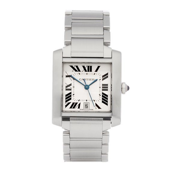 Cartier Tank Francaise Stainless Steel - W51002Q3 or 2302