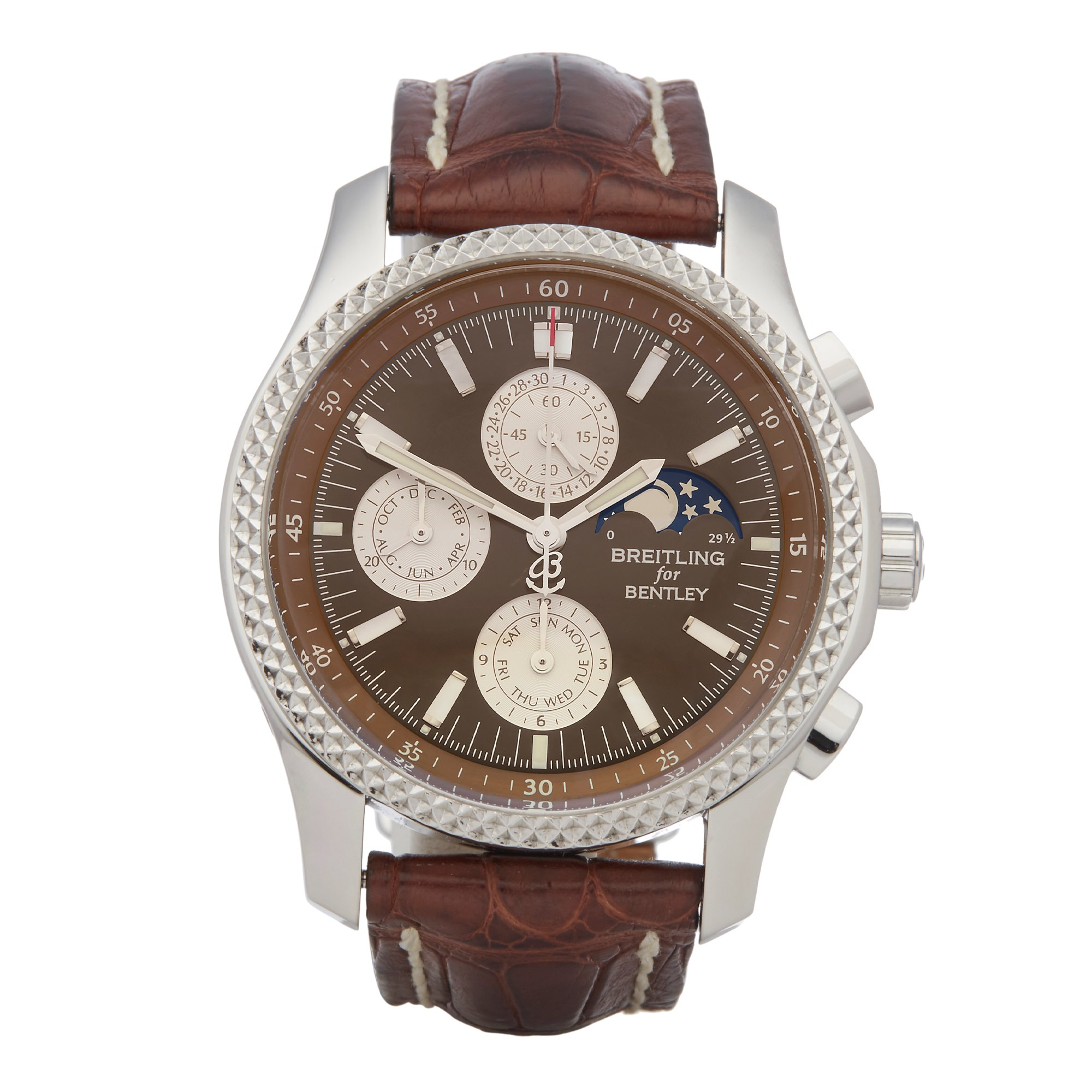 Breitling Bentley Chronograph Stainless Steel P19362