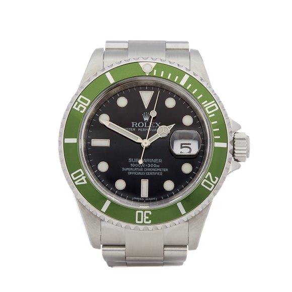 Rolex Submariner Date Kermit Stainless Steel - 16610LV