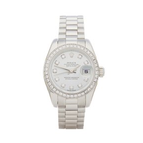 Rolex Datejust 26 Diamond Platinum - 179136