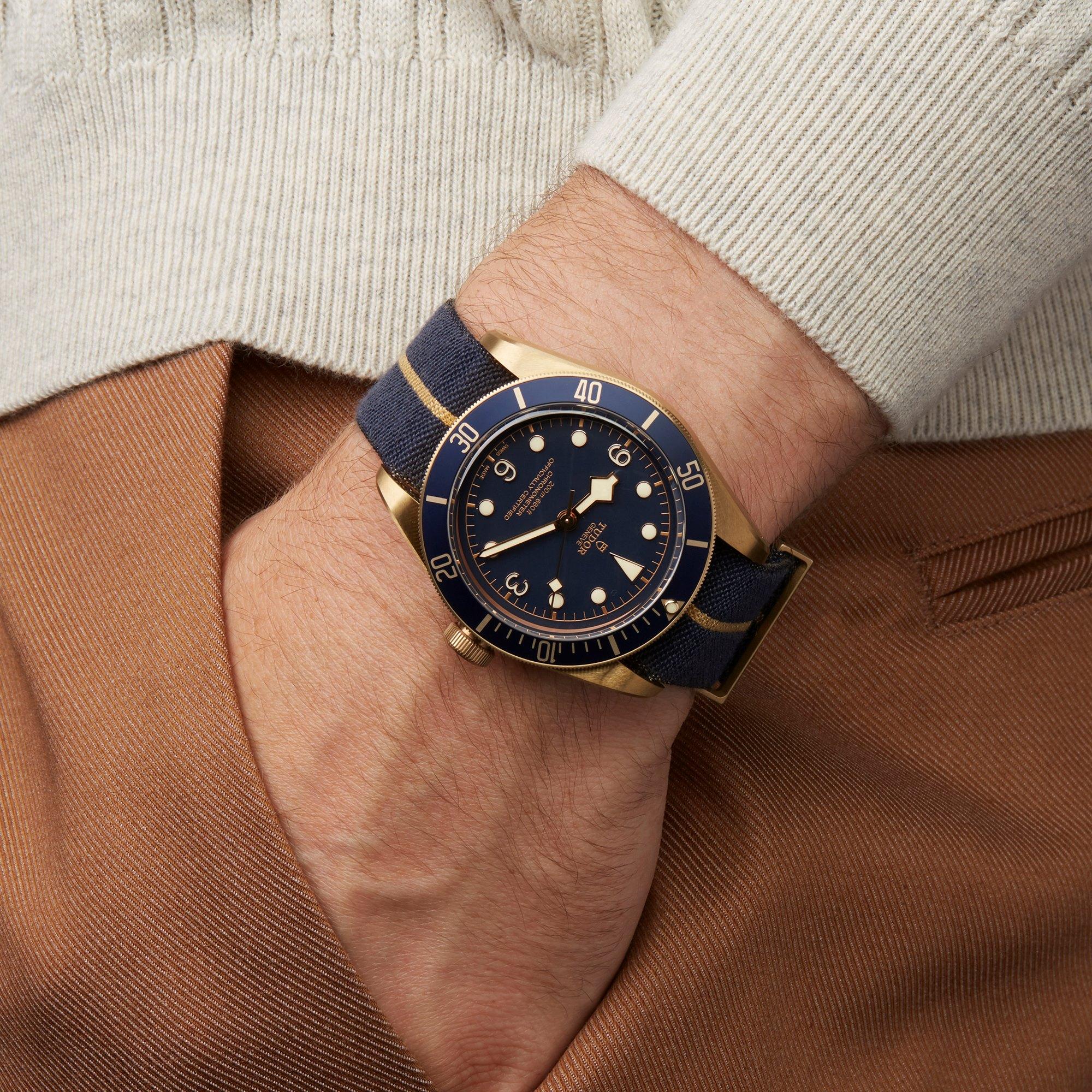 Tudor Black Bay Heritage Bucherer Blue Bronze 79250BB