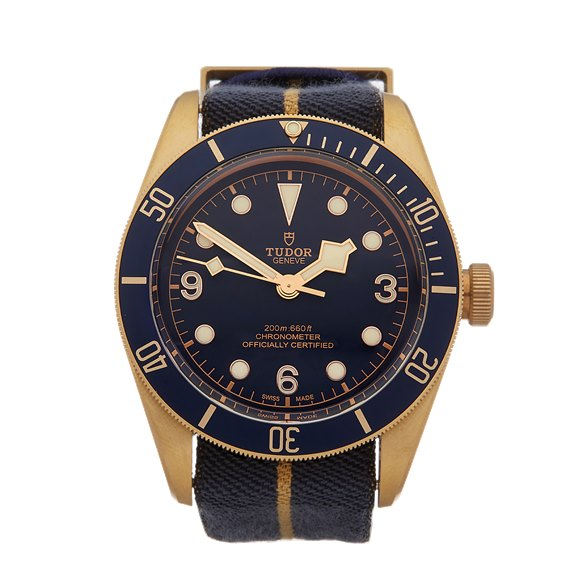 Tudor Black Bay Heritage Bucherer Blue Bronze - 79250BB