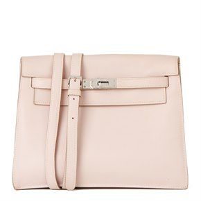 Hermès Rose Dragee Swift Leather Kelly Danse