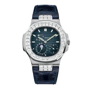 Patek Philippe Nautilus Date, Moonphase, Diamond 40mm - 5724G