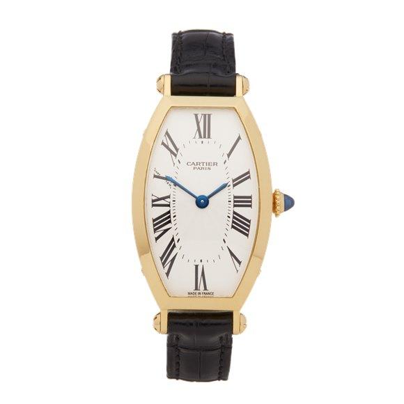 Cartier Tonneau 18k Yellow Gold - 89590043 or 0078