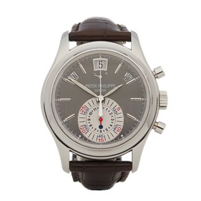 Patek Philippe Complication Annual Calendar Flyback Chronograph Platinum - 5960P-001