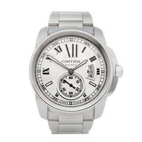 Cartier Calibre Stainless Steel - W7100037 or 3398