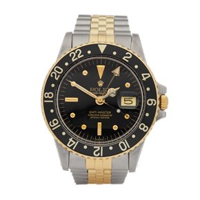 Rolex GMT-Master Nipple Dial Stainless Steel & Yellow Gold - 16753