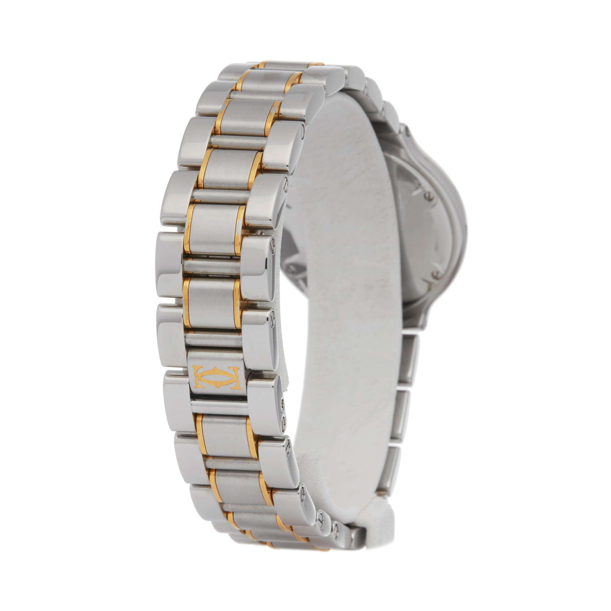 Cartier Must De 21 Stainless Steel & Yellow Gold W10073R6 or 1340