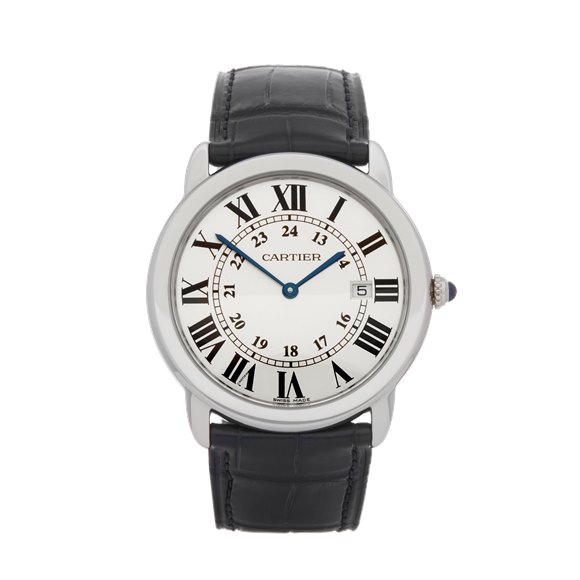Cartier Ronde Stainless Steel - W6700255 or 2934