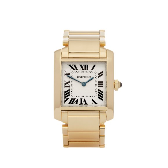 Cartier Tank Francaise 18K Yellow Gold - W50003N2 or 1821