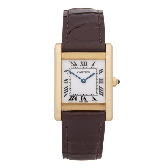Cartier Tank Paris 18k Yellow Gold