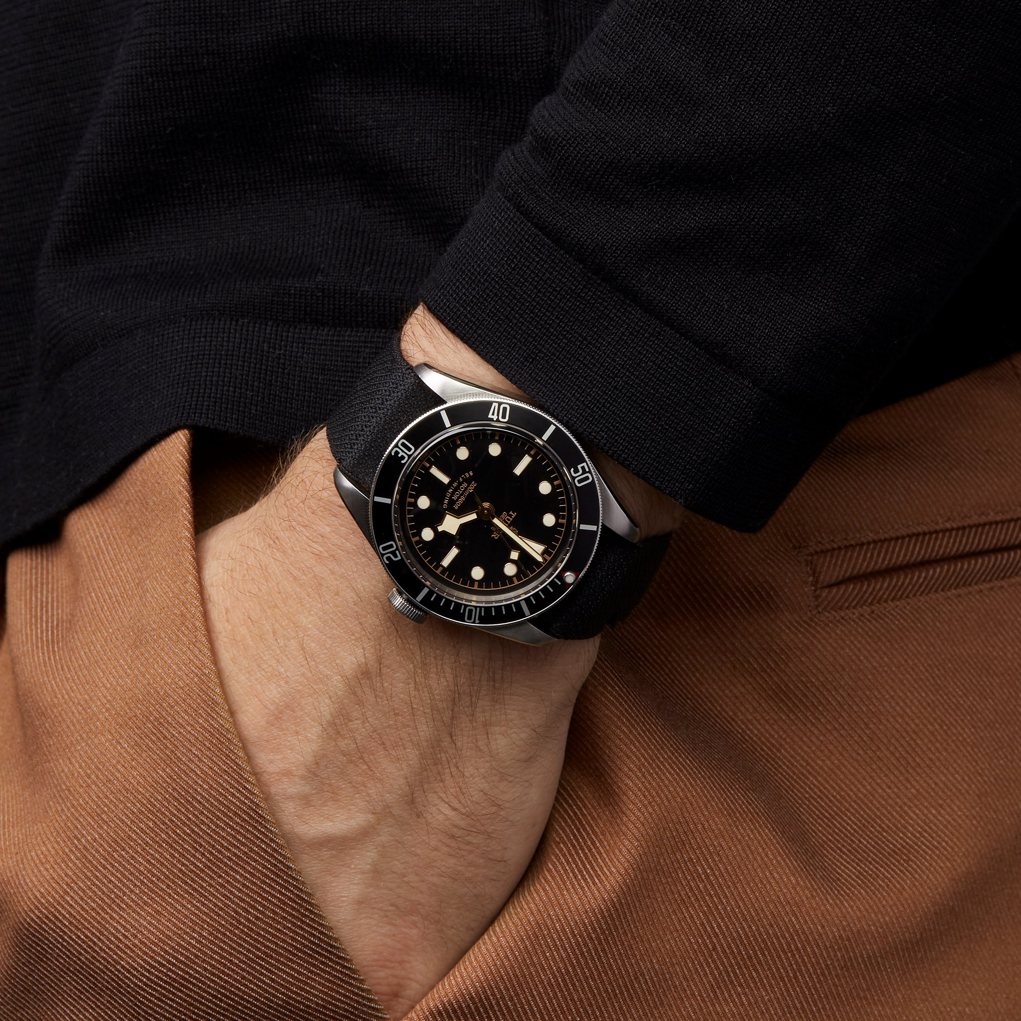 Tudor Black Bay Stainless Steel 79220N