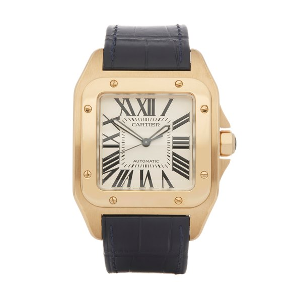 Cartier Santos 100 18K Yellow Gold - W20071Y1 or 2657