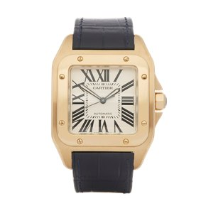Cartier Santos 100 W2007171 18K Yellow Gold - W20071Y1 or 2657