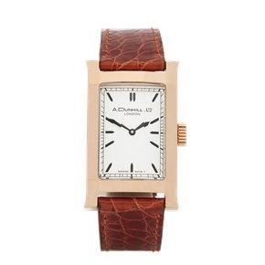 A. Dunhill Ltd Facet Ltd 24/500 18K Rose Gold - 8059