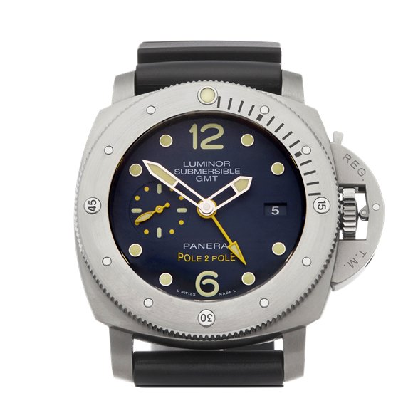 Panerai Luminor Submersible Pole 2 Pole Ltd 439/500 Titanium - PAM00719