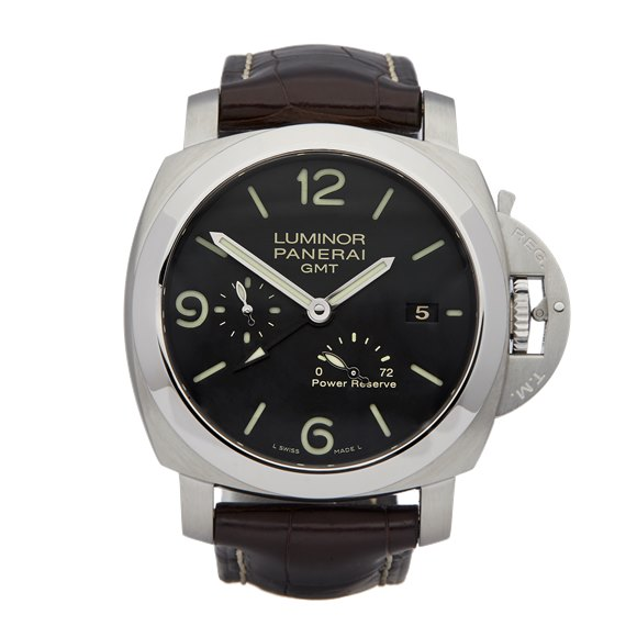 Panerai Luminor Gmt Stainless Steel - PAM00321