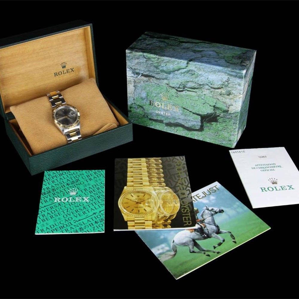 Rolex Datejust 18k White Gold/Stainless Steel
