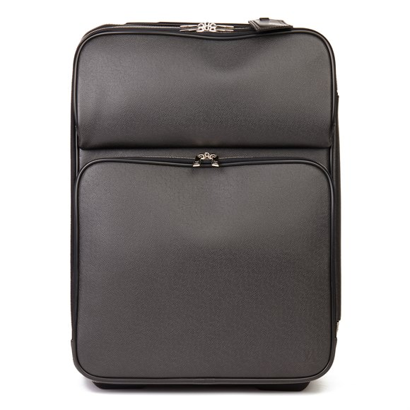 Louis Vuitton Black Taiga Leather Pégase 55 Business