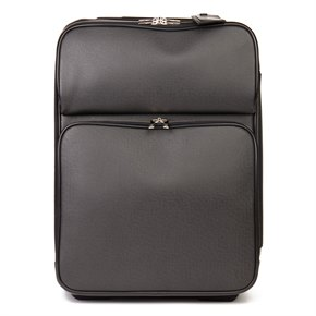 Louis Vuitton Black Taiga Leather Pégase 55 Business