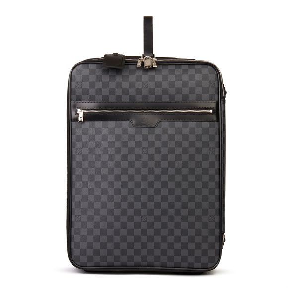 Louis Vuitton Graphite Damier Coated Canvas Pégase Légère 55
