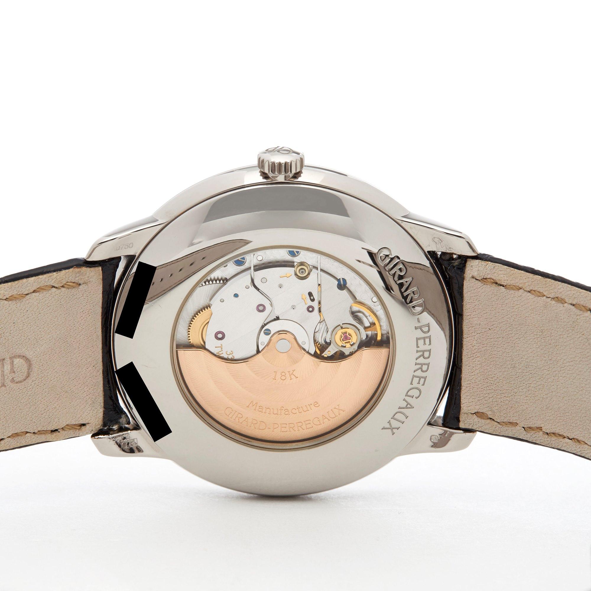 Girard Perregaux 1966 18K White Gold 4952553131BK6A